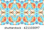 mosaic colorful artistic... | Shutterstock . vector #621103097