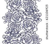 abstract elegance seamless... | Shutterstock . vector #621106925