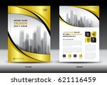 business brochure flyer... | Shutterstock .eps vector #621116459