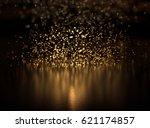 Glitter Lights Background. Gol...