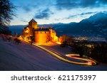 vaduz  liechtenstein.... | Shutterstock . vector #621175397