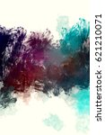 brushed painted abstract... | Shutterstock . vector #621210071