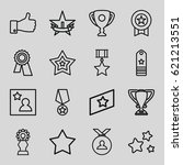 best icons set. set of 16 best... | Shutterstock .eps vector #621213551