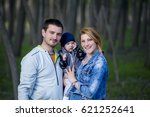 happy family | Shutterstock . vector #621252641