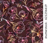 art vintage blurred graphic... | Shutterstock .eps vector #621256619