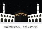 moslem islam religion bulding... | Shutterstock .eps vector #621259391