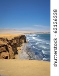coastline in paracas  peru ... | Shutterstock . vector #62126338