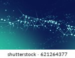 digital network point dot | Shutterstock . vector #621264377