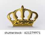 Close Up Of Golden Royal Crown...
