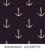 seamless pattern with hand... | Shutterstock .eps vector #621283715