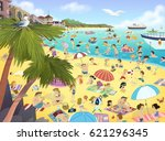 Illustration Of People On The...