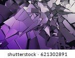 abstract 3d rendering of... | Shutterstock . vector #621302891