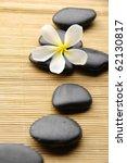 Zen Stones With Frangipani...
