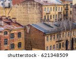 Small photo of Old courtyards in the central part of St. Petersburg in the style of Dostoevsky's novels