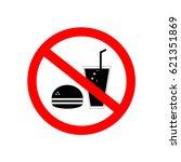 no food  no drink sign   red...