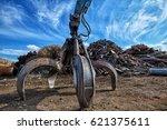 Gripper Excavator On A Scrap...