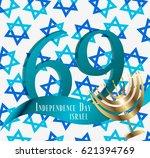 vector illustration of israel...   Shutterstock .eps vector #621394769