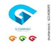 letter g logo design | Shutterstock .eps vector #621408095