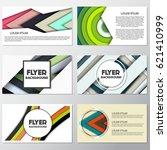 fresh fashion flyer style... | Shutterstock .eps vector #621410999