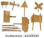 Set Cardboard Scraps Navigation ...
