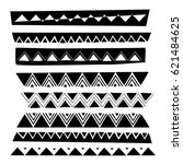 pattern made of triangles...   Shutterstock .eps vector #621484625