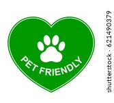 pets allowed  pet friendly... | Shutterstock .eps vector #621490379