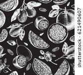 decorative seamless pattern... | Shutterstock .eps vector #621490607