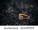 Jewellery Diamond Ring On A...