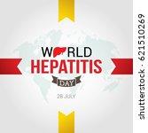 world hepatitis day design... | Shutterstock .eps vector #621510269