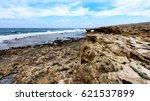 beautiful landscape of cyprus.... | Shutterstock . vector #621537899