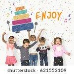 children early education... | Shutterstock . vector #621553109