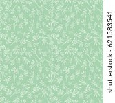 seamless floral pattern with...   Shutterstock . vector #621583541