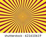 sunny background. rising sun...   Shutterstock .eps vector #621610619