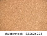 closed up of brown cork board... | Shutterstock . vector #621626225