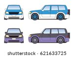 automobile | Shutterstock . vector #621633725