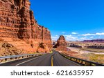 Red Rock Canyon Mountain Road...
