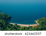 queen's beach in the territory ... | Shutterstock . vector #621662537