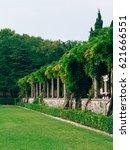 the park milocer  villa  beach... | Shutterstock . vector #621666551