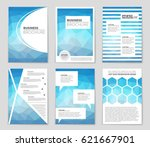 abstract vector layout... | Shutterstock .eps vector #621667901