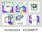 abstract vector layout... | Shutterstock .eps vector #621668879