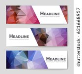 abstract vector layout... | Shutterstock .eps vector #621668957