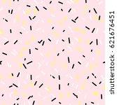 memphis design. organic... | Shutterstock .eps vector #621676451
