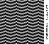 zigzag lines. jagged stripes.... | Shutterstock .eps vector #621695195