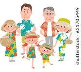vector illustration of a family ...   Shutterstock .eps vector #621705449