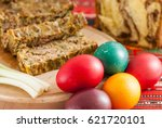 traditional romanian easter... | Shutterstock . vector #621720101