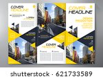 business brochure. flyer design.... | Shutterstock .eps vector #621733589