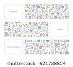 vector line concept for... | Shutterstock .eps vector #621738854