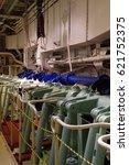 ship engine room | Shutterstock . vector #621752375