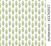Ear Seamless Pattern Green...