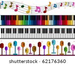 Four Border Designs Of Music...